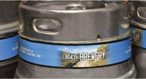 Keg Wrap and Bottle Tags