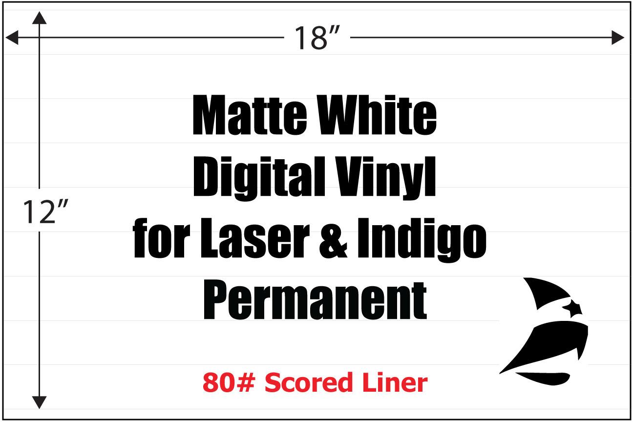 Matte White Digital Vinyl 12 Quot X 18 Quot Ghs Bs5609