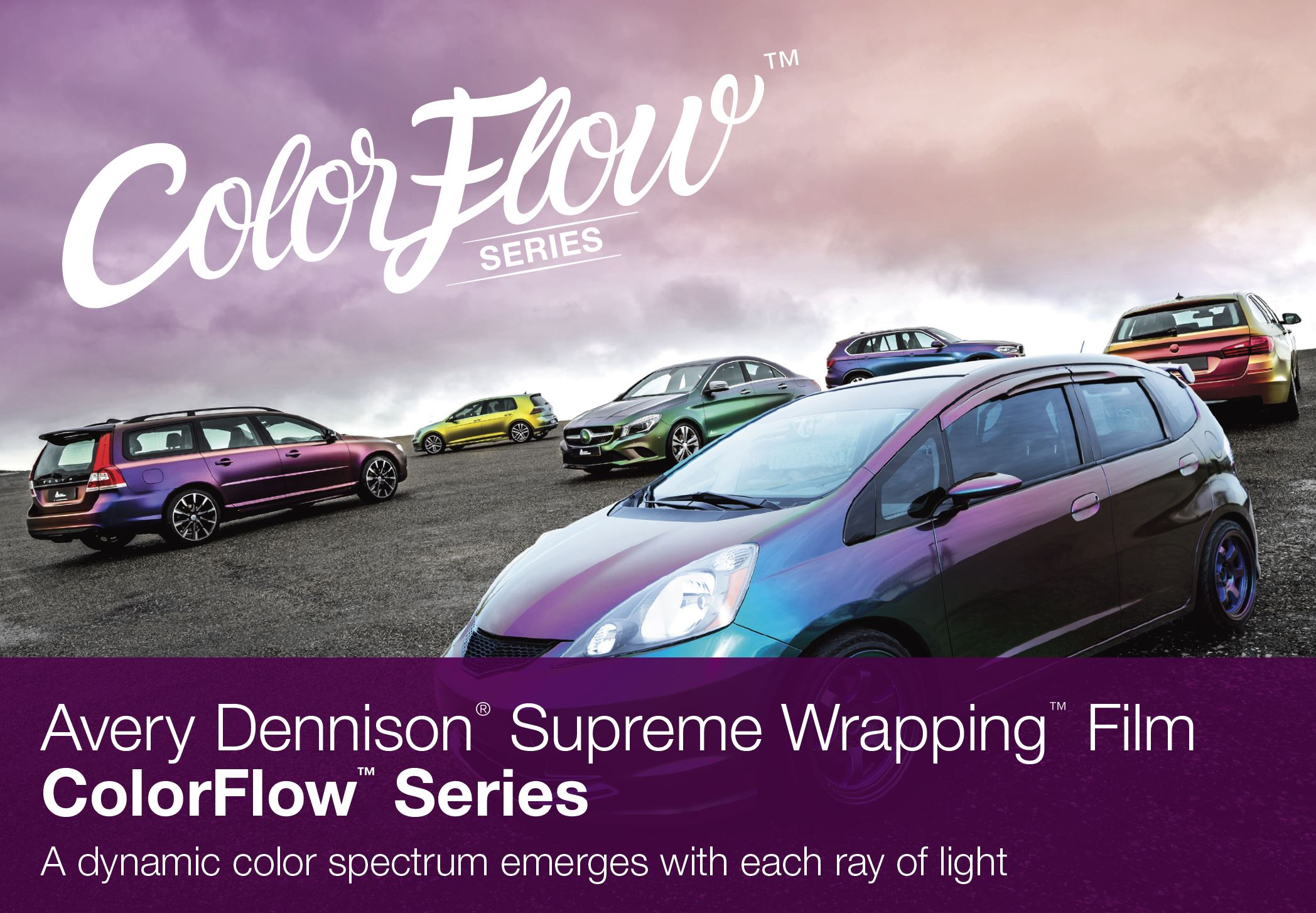 Avery Dennison 174 Colorflow Series Supreme Wrapping Film