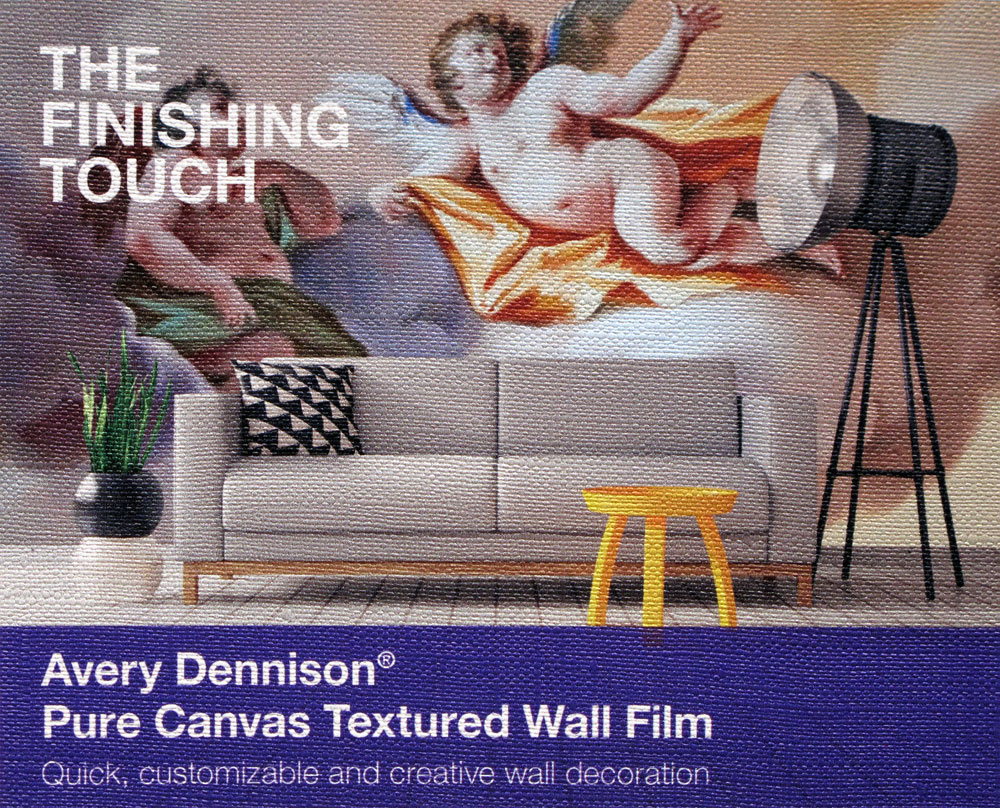 Avery Dennison 174 Mpi 2631 Canvas Textured Wall Film