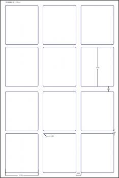 For HP Indigo: PressLabel com Adhesive Paper (800) 810-7424